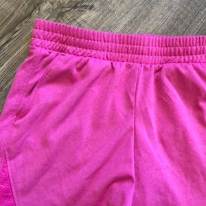 Athletic Works Bottoms - Athletic Girls Pi k Shorts - Size Medium (7/8)